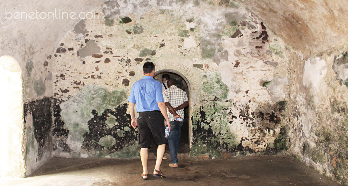 Dungeon at Elmina Castle