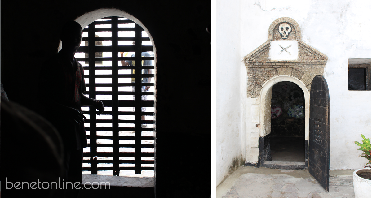 Inside Condemned Male Dungeon Elmina Castle