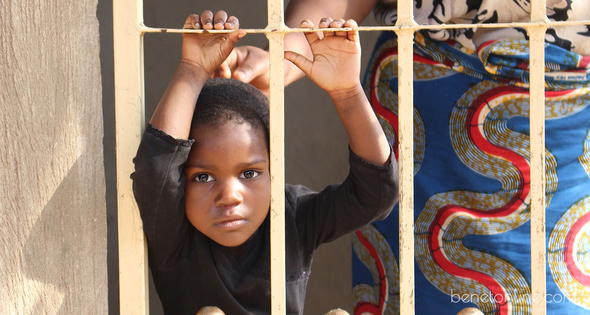 African Child in Lome Togo