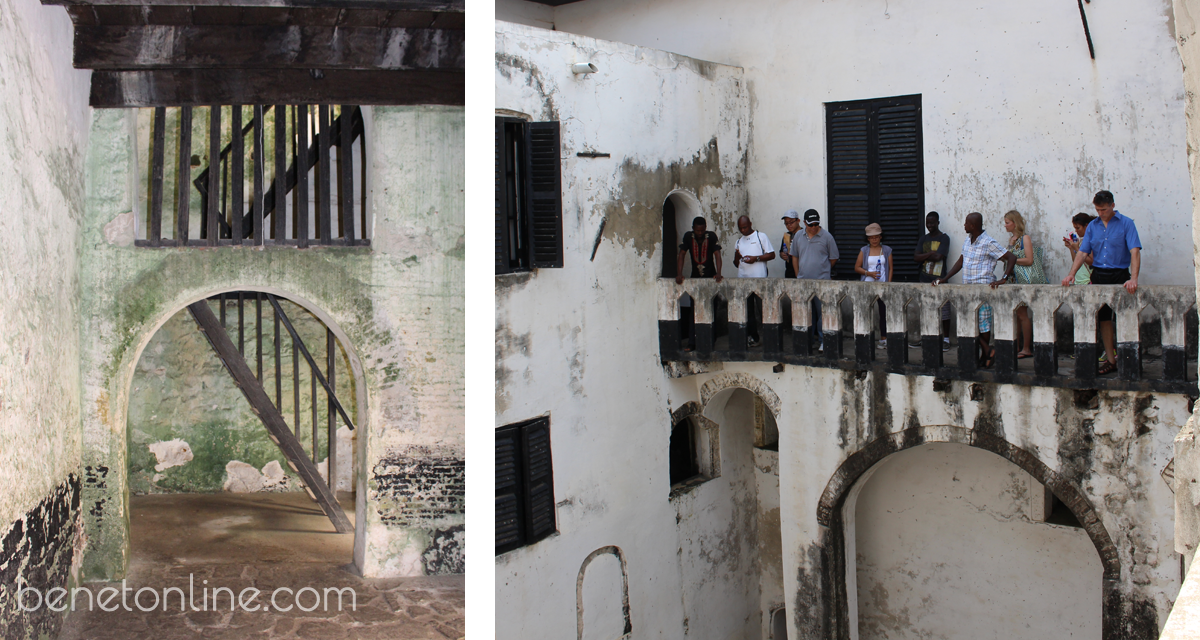 Elmina Castle Governor's Balcony