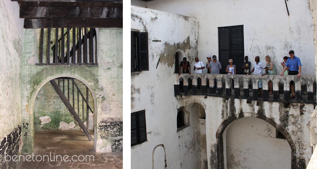 Elmina Castle Governor's Balcony