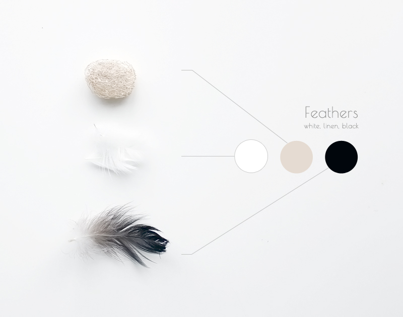 Feathers and color