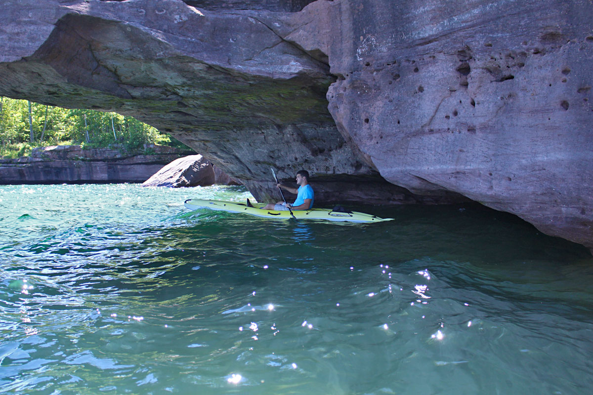 Kayaking Lake Superior Apostle Islands Madeline Island