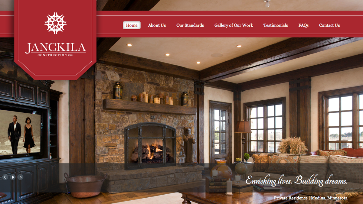 Janckila Construction, Inc. (JCI) Is A Luxury Home Builder Based In  Colorado. They Came To Us In Need Of A Fresh Identity And Website.